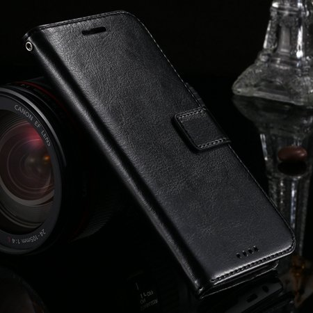 2015 Hot Retro Luxury Pu Leather Case For Htc One M8 Wallet Phone  32272991122-1-Black