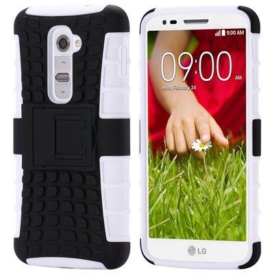 G2 Kick-Stand Hard Back Case For Lg G2 Optimus D801 F320 Korean Ar 32270514027-1-White