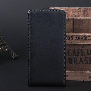 X12 Case Retro Luxury Vertical Flip Genuine Leather Case For Sony  32270842782-1-Black