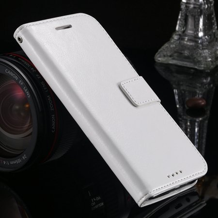 M8 Wallet Case Vintage Luxury Leather Case For Htc One M8 Flip Cel 32267497560-2-White