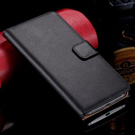 For Nexus 6 Wallet Genuine Leather Case For Lg Google Nexus 6 Flip 32272434879-1-Black