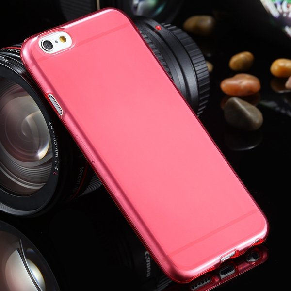 For Iphone 6 Clear Case Full Flip Cover For Iphone 6 4.7Inch Soft  2031725281-3-red