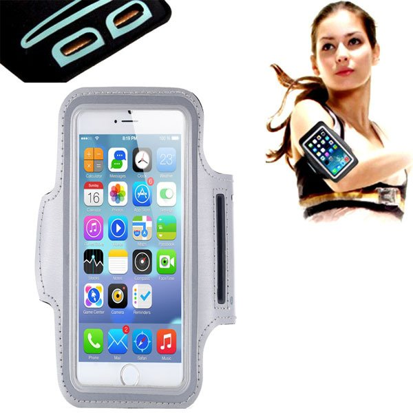 Gray Waterproof Sport Armband Case For Iphone 6 4.7'' Gymnasium Ac 32238692154-1-