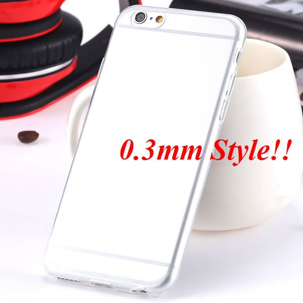 Latest Flexible Soft High Transparent Case For Iphone 6 4.7'' Clea 2042995313-6-Thin clear