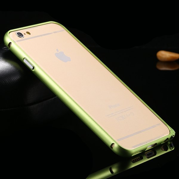 I6 Aluminum Case Slim Metal Frame For Iphone 6 4.7Inch Deluxe Hard 32213584582-8-green