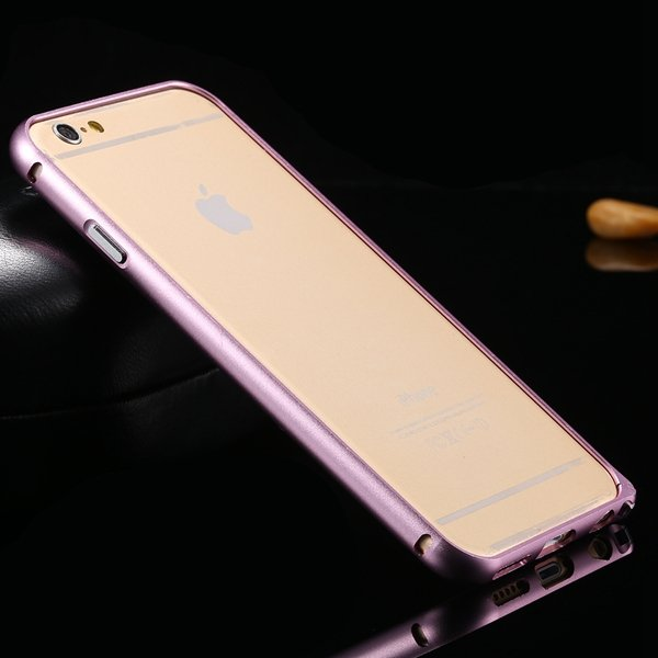 I6 Aluminum Case Slim Metal Frame For Iphone 6 4.7Inch Deluxe Hard 32213584582-9-pink
