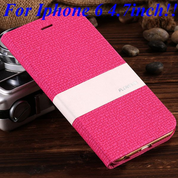 I6/6 Plus Luxury Original Brand Pu Leather Case For Iphone 6 4.7In 32276577085-3-rose for iphone 6