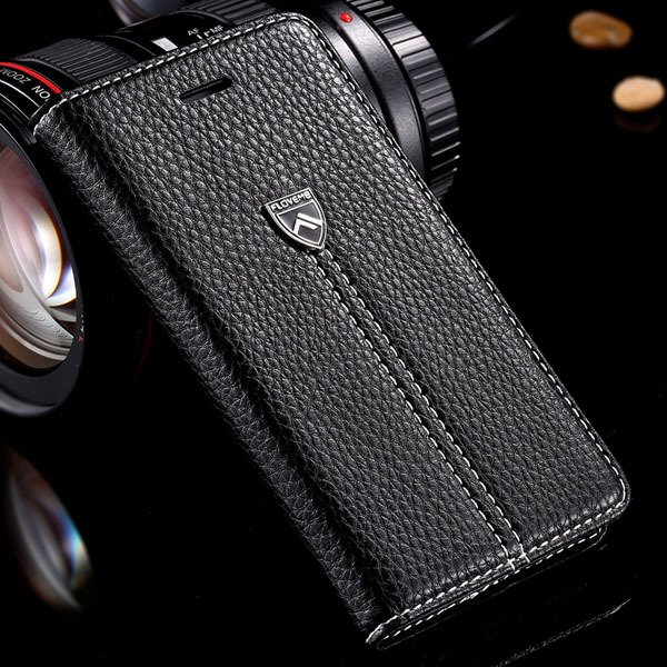 I6 Luxury Case Original Flm Brand Pu Leather Cover For Iphone 6 4. 32214707085-2-black