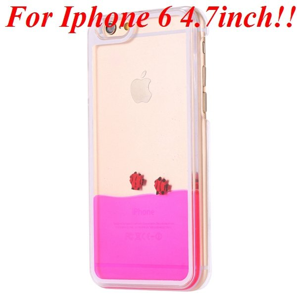 I6/6 Plus Dynamic Flowing Liquid Fish Clear Case For Iphone 6 4.7I 32277567848-3-rose for iphone 6