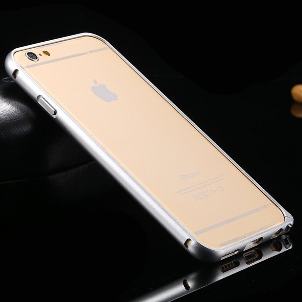I6 Metal Frame Aluminum Case For Iphone 6 4.7Inch Slim Protective  32213754716-3-silver