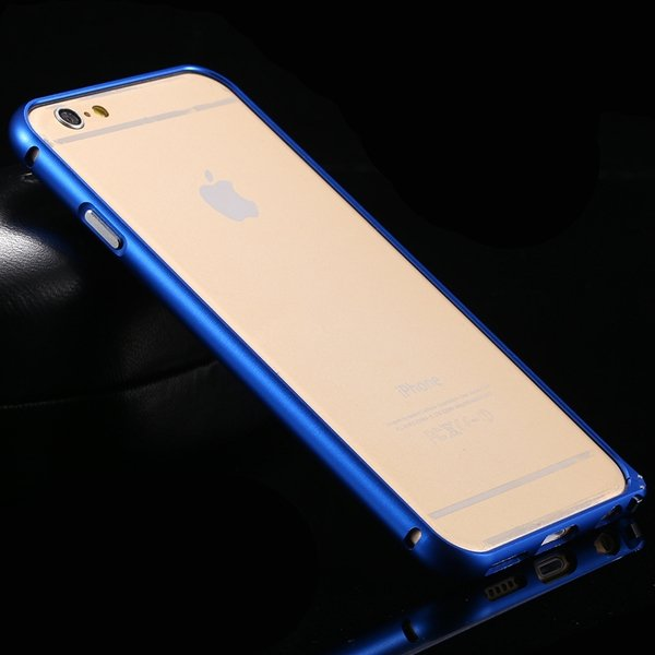 I6 Metal Frame Aluminum Case For Iphone 6 4.7Inch Slim Protective  32213754716-5-deep blue