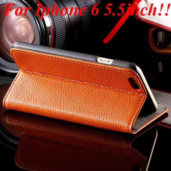 I6/6Plus Genuine Leather Case For Iphone 6 4.7Inch Full Protect Co 32236491521-3-brown for plus