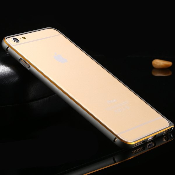 Shiny Arrival Metal Frame Cell Phone Case For Iphone 6 Plus 5.5Inc 32214023248-6-navy