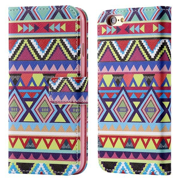 Luxury Mat Print Flip Cover For Iphone 6 4.7Inch Leather Case Stan 32247875125-5-Big culture