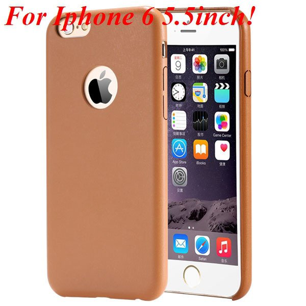 I6 Slim Case Original Ultra Thin Pu Leather Cover For Iphone 6 4.7 32261009616-8-orange for plus