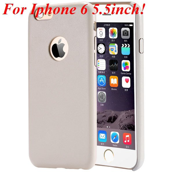 I6 Slim Case Original Ultra Thin Pu Leather Cover For Iphone 6 4.7 32261009616-10-beige for plus