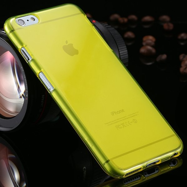 Newest Full Protect Flip Open Transparent Case For Iphone 6 Plus 5 2053095096-6-yellow