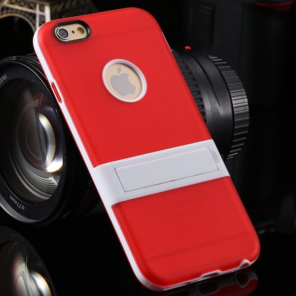 I6 Strong Triangle Stand Holder Cover For Iphone 6 4.7'' Creative  2046199958-4-red
