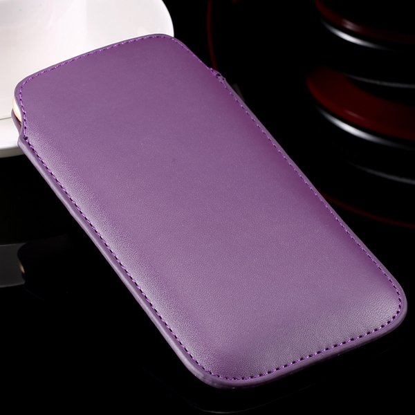 I6 Universal Mini Phone Case For Iphone 6 4.7Inch Pu Leather Cover 32261117883-6-purple