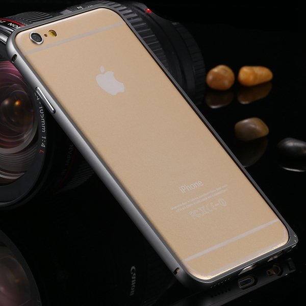 I6 Metal Frame Case Aluminum Cover For Iphone 6 4.7Inch Slim Back  2055175192-2-navy blue
