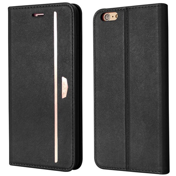 Comprehensive Wallet Cover For Iphone 6 Plus 5.5Inch Flip Phone Ba 32216224441-1-black