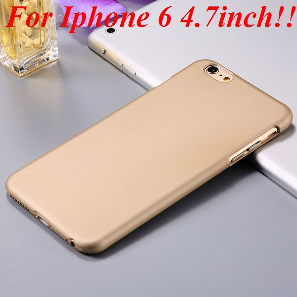 I6/6 Plus Slim Case Mat Lubricating Smooth Back Cover For Iphone 6 32281037773-7-gold for iphone 6