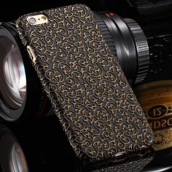 Noble Royal Palace Special Structure Pu Leather Cover For Iphone 6 32242498722-1-black