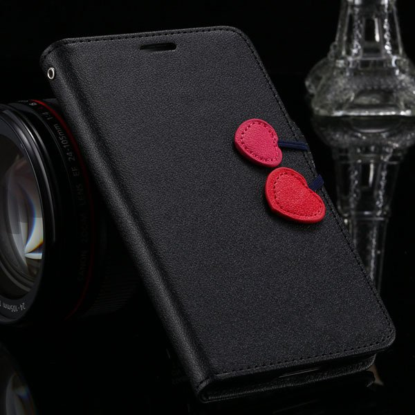 S3 Candy Color Pu Leather Case Full Protect Magnetic Buckle For Sa 1810592877-1-black
