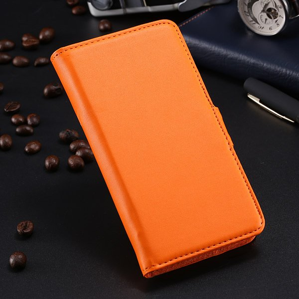 S5 Pu Leather Case For Samsung Galaxy S5 I9600 Flip Cover With Id  1790416343-2-orange