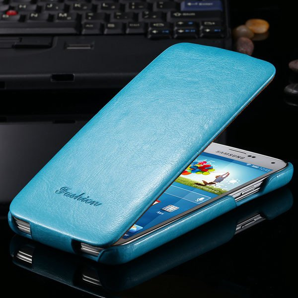 S5 Pu Leather Case Retro Flip Cover With Magnetic Buckle For Samsu 2024373909-4-blue