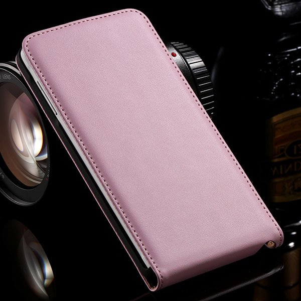 For Note 4 Genuine Leather Case Flip Cover For Samsung Galaxy Note 32269062618-4-pink