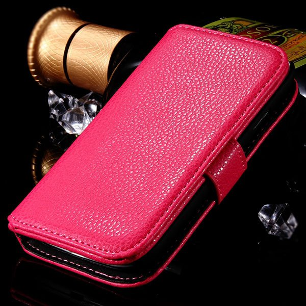 S3 Flip Wallet Case Pu Leather Cover For Samsung Galaxy S3 S Iii I 1064100504-3-rose