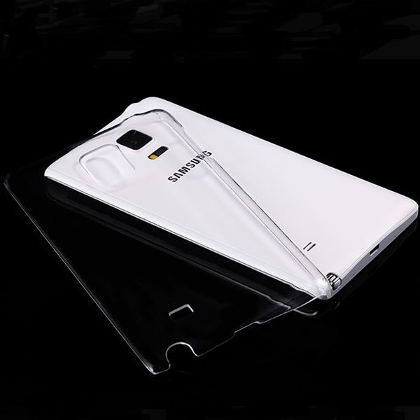 For Note Edge Clear Case Crystal Transparent Capa Plastic Back Cov 32289776967-1-clear