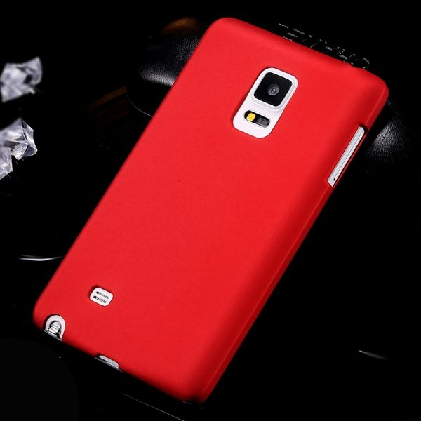 For Note Edge Slim Case Lubricating Mat Back Cover For Samsung Gal 32280535742-2-red