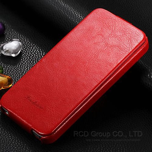 4S Pu Leather Cover Premium Flip Case For Iphone 4 4S 4G Full Prot 1545139938-3-Red