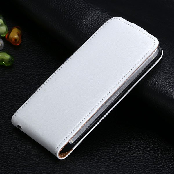 5S Flip Genuine Leather Case For Iphone 5 5S 5G Full Protective Sk 1793744595-7-white