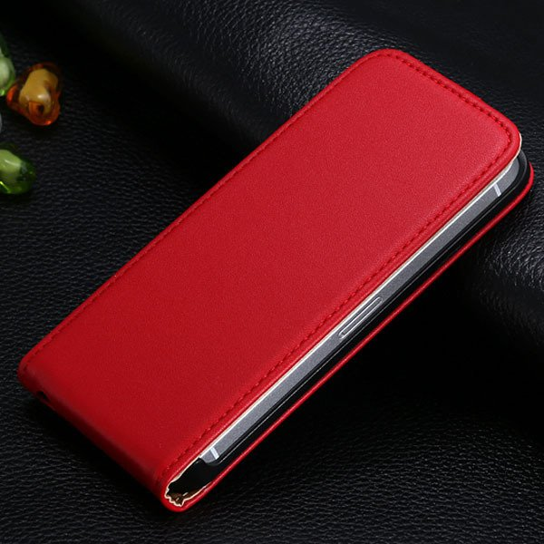 5S Flip Genuine Leather Case For Iphone 5 5S 5G Full Protective Sk 1793744595-10-red