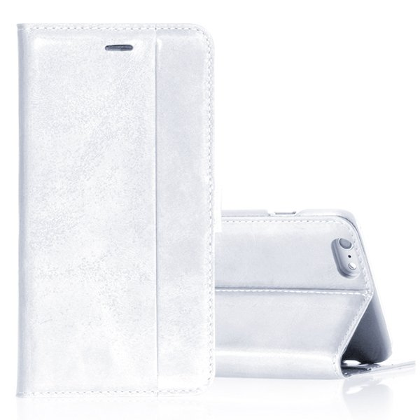 I5 Genuine Leather Case Flip Cover For Iphone 5 5S 5G Full Protect 32271073553-2-white
