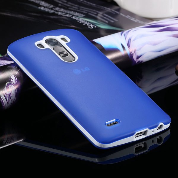 G3 Soft Tpu Combo Case For Lg G3 Cover For D858 D859 Plastic Back  2024340846-6-blue