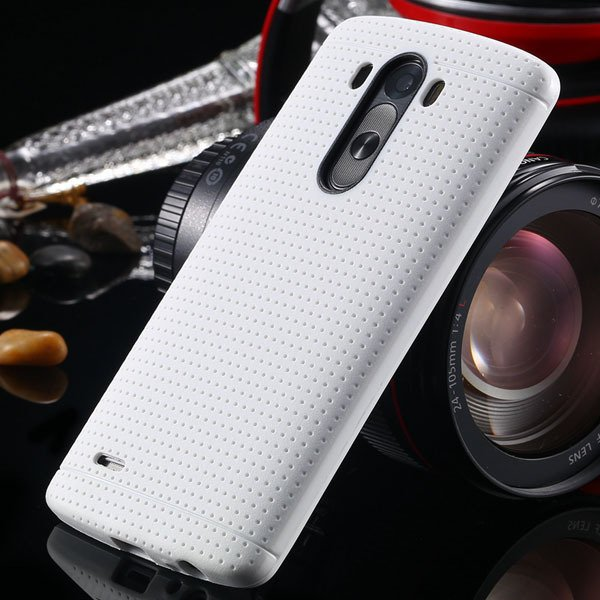 G3 Silicone Case For Lg G3 D858 D859 Fresh Color Back Cover Frame  2001477811-2-white