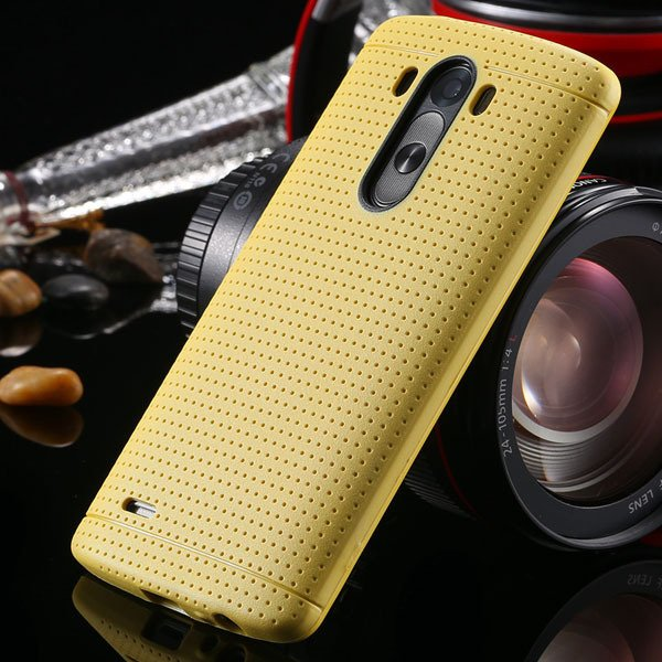 G3 Silicone Case For Lg G3 D858 D859 Fresh Color Back Cover Frame  2001477811-4-yellow