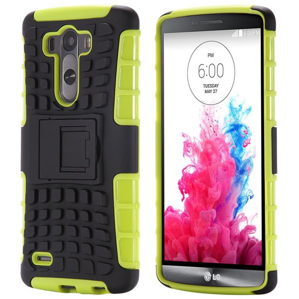 G3 Armor Case Heavy Duty Hybrid Cover For Lg G3 D850 D855 Back Pro 32274058383-6-green