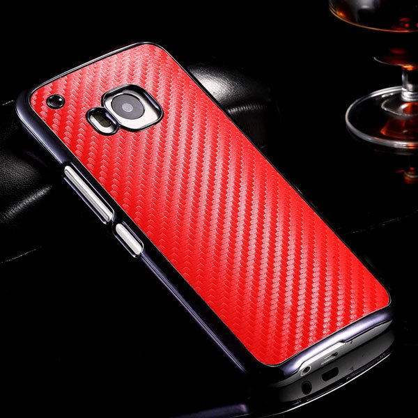 M9 Plating Microfiber Case With Chromed Metallic Frame For Htc One 32304730204-2-red