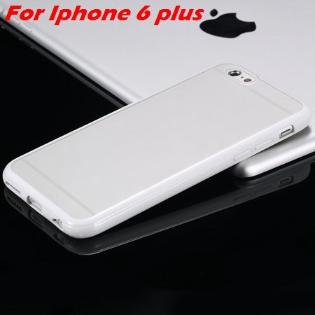 New Arrival Slim Colorful Tpu Clear Case For Iphone 6 4.7'' Phone  2018245815-13-White For I6 Plus