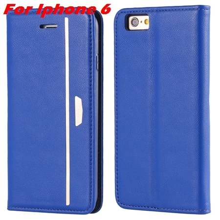 Luxury Fashion High Quality Leather Case For Iphone 6 Flip Case St 2055637345-1-Black For I6 Plus