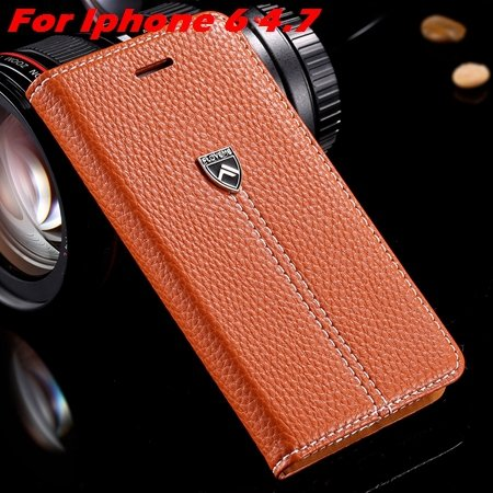Newest Supreme Luxury Retro Flip Leather Case For Iphone 6 /Iphone 2055155495-1-Brown For Iphone 6