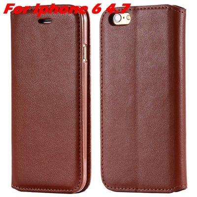 For Iphone 6 Leather Case Retro Luxury Pu Leather Case For Iphone  32265895680-5-Brown For Iphone 6