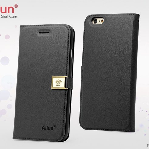 For Iphone 6 Case Retro Luxury Pu Leather Case For Iphone 6 4.7Inc 32262101666-1-Black