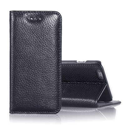 """Vintage Elegent Lychee Pattern Pu Leather Case For Iphone 6 4.7"""""""" F 32259828402-1-Black"""