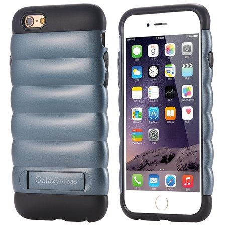 Cute Luxury Pc+ Tpu Hybird Armor Case For Iphone 6 4.7Inch Mobile  32302464039-3-Navy Blue